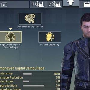 Alpha Protocol Rüstung Upgrade-
