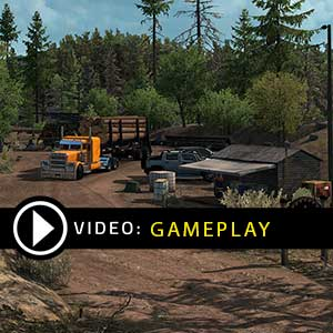 American Truck Simulator Oregon Gameplay Video