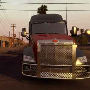 American Truck Simulator Starter Pack California Screenshot: LKW Vorderansicht