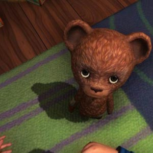 Among The Sleep Evil Teddybär