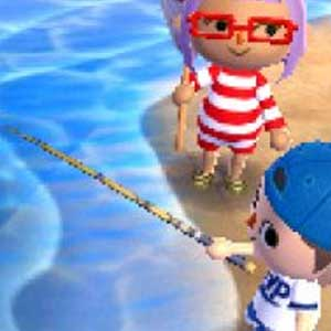 Animal Crossing New Leaf Nintendo 3DS Schwimmen