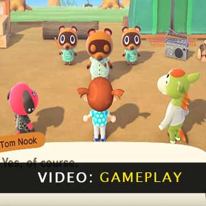 Animal Crossing New Horizons Nintendo Switch Gameplay-Video