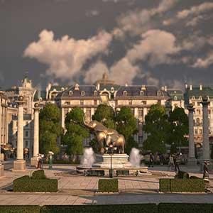 prestigeträchtiger Palast