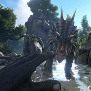 ARK Survival Evolved Dinosaurier-Ritt
