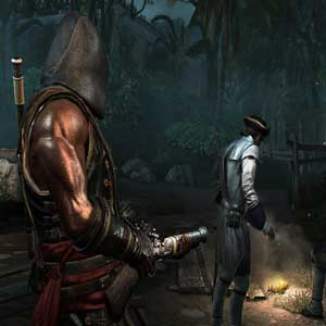 Assassins Creed 4 Black Flag Freedom Cry - Adéwalé with Blunderbuss