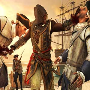 Assassins Creed 4 Black Flag Freedom Cry - Adéwalé im Kampf