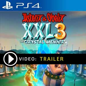 Asterix & Obelix XXL 3 The Crystal Menhir PS4 Prices Digital or Box Edition
