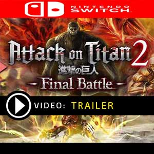 Attack on Titan 2 Final Battle Nintendo Switch Digital Download und Box Edition