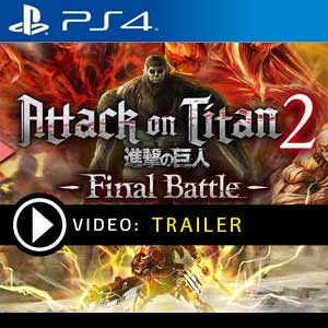 Attack on Titan 2 Final Battle PS4 Digital Download und Box Edition