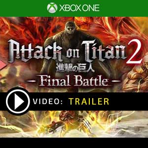 Attack on Titan 2 Final Battle Xbox One Digital Download und Box Edition