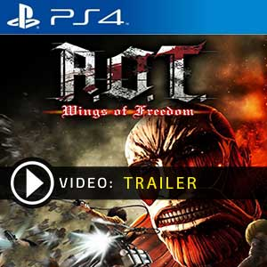 Attack on Titan Wings of Freedom PS4 Digital Download und Box Edition