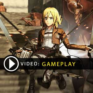 Attack on Titan Wings of Freedom Gameplay Video