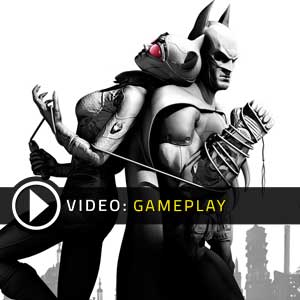 Batman Arkham City Gameplay Video