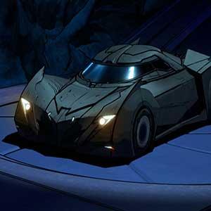 Batcave und Batmobil