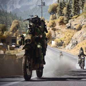 Battlefield 3 End Game Dirtbike Auf der Straße