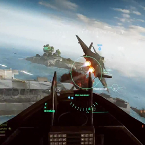 Battlefield 4 Xbox One Aerial Gameplay Bildschirmfoto
