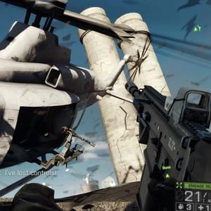 Battlefield 4 PS4 Luftkampf