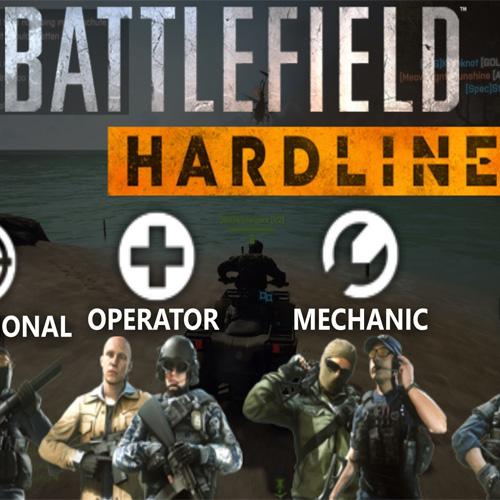 Battlefield Hardline Gruppen