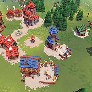 Becastled - Dörfer