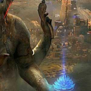 Die Stadt von Ganesha