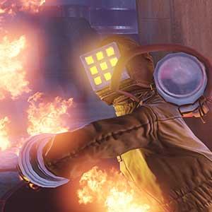 BioShock Infinite Burial at Sea Episode 2 - In Brand geraten