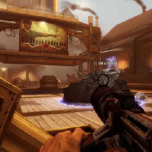 Bioshock Infinite Pistole