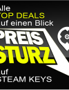 PC SPIELE CD-KEYS TOP DEALS am 22. Oktober 2015
