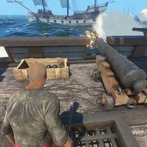 Eine große Auswahl an Waffen, um fiese Piraten zu erschießen, zu zerstückeln und wegzublasen