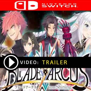 Blade Arcus Rebellion from Shining Nintendo Switch Digital Download und Box Edition