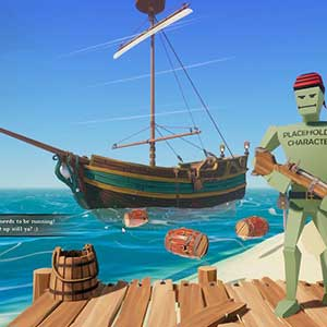 Den Feind an der Küste beobachten