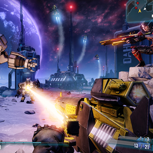 Borderlands The Pre- Sequel Angriff