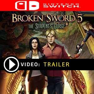 Broken Sword 5 The Serpents Curse Nintendo Switch Digital Download und Box Edition