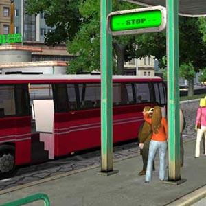 Bus Driver - Bushaltestelle