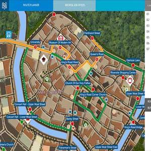 Bus Simulator 16 Map