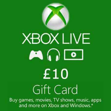10 GPB Gift Card Xbox Live Code Kaufen Preisvergleich