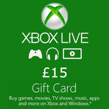 15 GPB Gift Card Xbox Live Code Kaufen Preisvergleich