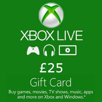 25 GPB Gift Card Xbox Live Code Kaufen Preisvergleich