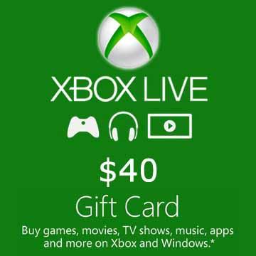 40 USD Gift Card Xbox Live Code Kaufen Preisvergleich