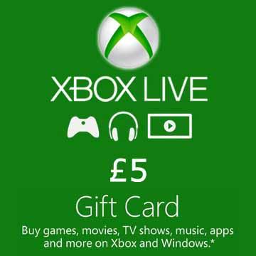 5 GPB Gift Card Xbox Live Code Kaufen Preisvergleich