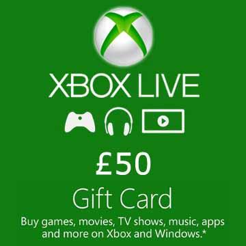 50 GPB Gift Card Xbox Live Code Kaufen Preisvergleich