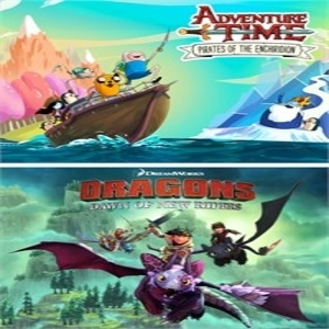 Adventure Time and DreamWorks Dragons