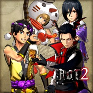 AOT2 Additional Costumes 16 Piece Set