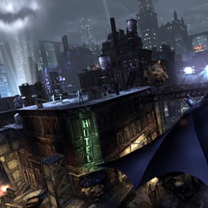 Batman Arkham Knight PS4 City