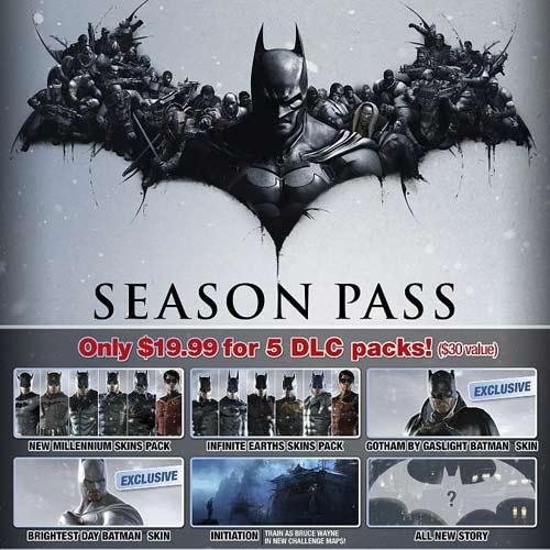 Batman Arkham Origins Season Pass Key kaufen - Preisvergleich