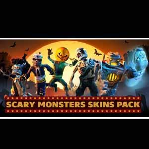 Block N Load Scary Monsters Skin Pack