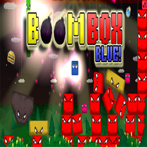 Boom Box Blue