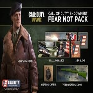 Call of Duty WW2 Call of Duty Endowment Fear Not Pack