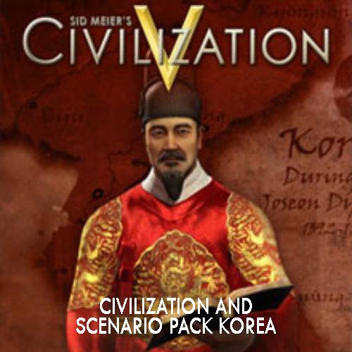 Civilization 5 Civilization and Scenario Pack Korea