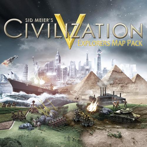 Civilization 5 Explorers Map Pack