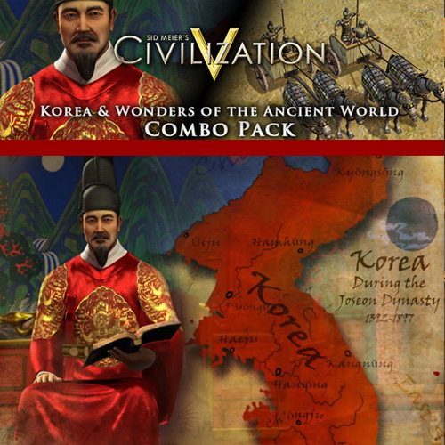Civilization 5 Korea and Wonders of the Ancient World Combo Pack Key Kaufen Preisvergleich